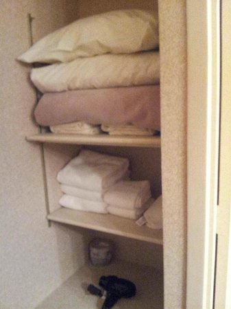 Regency Suites : Extra Linens/Towels in separate closet