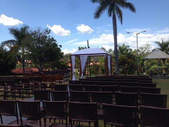 Pirapozinho, SP: Casamento no hotel