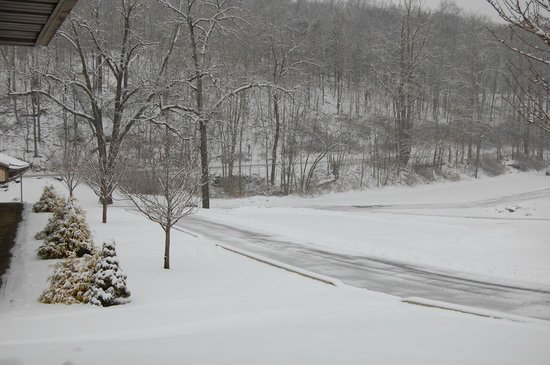 Pocono Palace Resort: photo outside of our room
