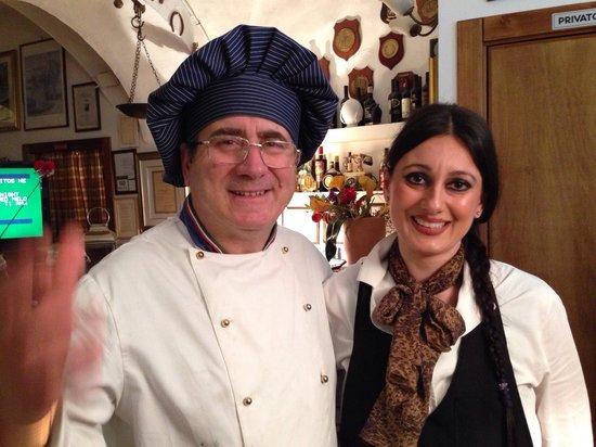 Ceglie Messapica, Italy: Mimmo e figlia
