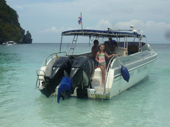Phuket At Andaman - Day Tours: Getting around by speed boat was exhilarating.