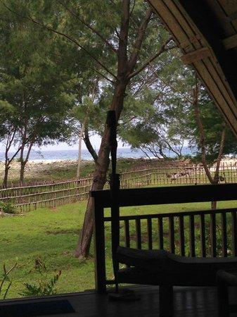 Villa Sunset Beach : view from porch