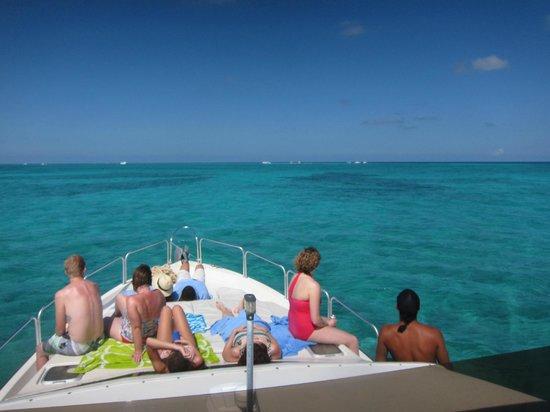 Acquarius Sea Tours: Captian Mario's boat