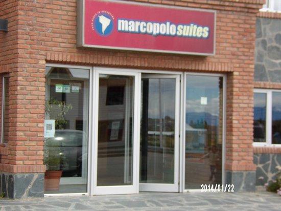 Marcopolo Suites Calafate: entrada