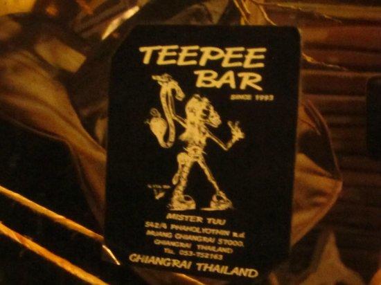 Teepee Bar: logo
