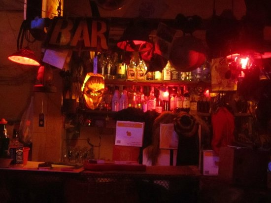 Teepee Bar: pic of the bar