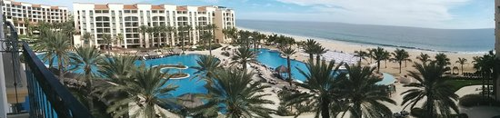 Hyatt Ziva Los Cabos: View of the pools and beach