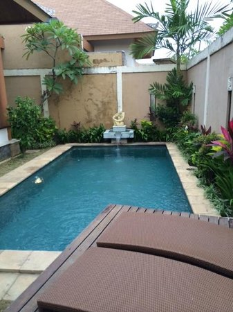 Desamuda Village: 3 bedroom pool villa pool