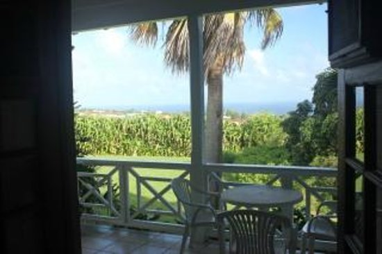 Ottley's Plantation Inn : View Out Back Porch