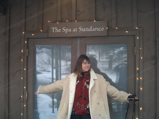 Sundance Resort: spa time!