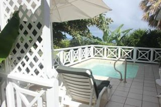 Ottley's Plantation Inn: The Famous Private Plunge Pool