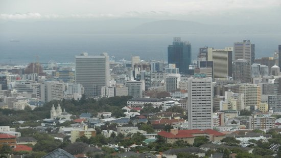 MannaBay: View of Cape Town from room
