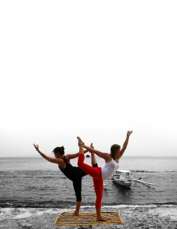 Puri Bagus Candidasa: Beautiful View.  Yoga!