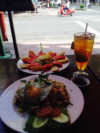 Cafe Zoom : Asian menu