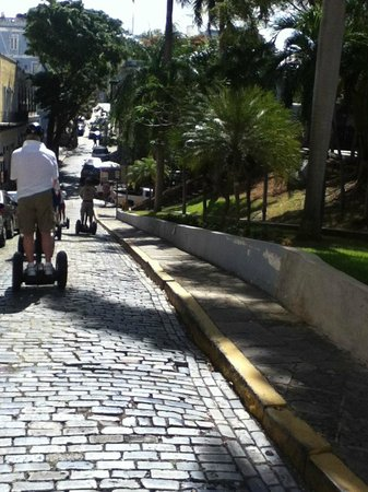Segway Tours of Puerto Rico : cobblestone strret