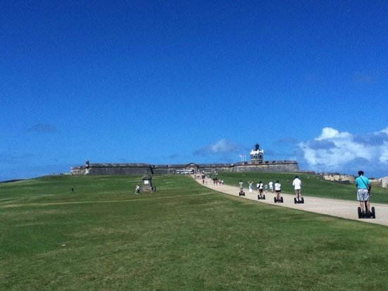 Segway Tours of Puerto Rico: old fort