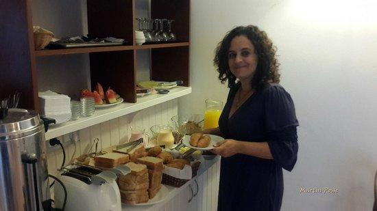 Hotel Milano: desayuno    exelente....