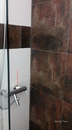 Hotel Milano: Grifo usado de  jabonera