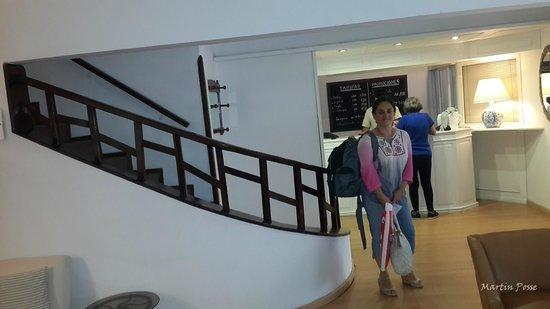 Hotel Milano: Recepcion