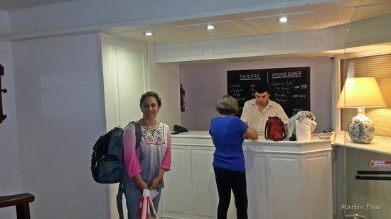 Hotel Milano: Atencion  muy amable de Fernando