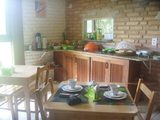 Pousada Rio Vermelho: Café da manhã