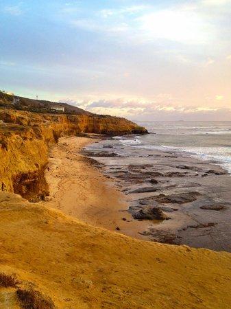 Sunset Cliffs Natural Park : Scogliera