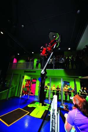 Questacon (National Science and Technology Centre): 360 Swing - Excite Gallery (exhibition studios)