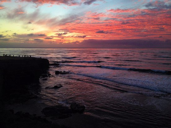 Sunset Cliffs Natural Park: Tramonto