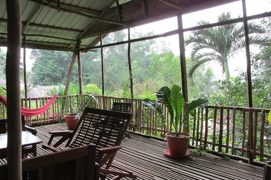 Maya Mountain Lodge: View from the hilltop suites
