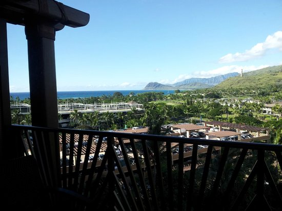 Aulani, a Disney Resort & Spa: View from our room