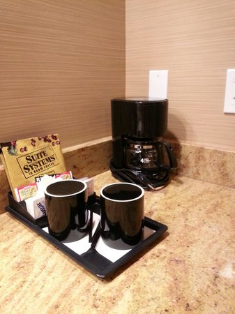 The Lodge Casino: Coffee maker