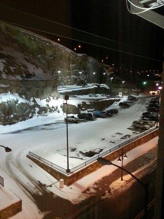 The Lodge Casino: Window view room 343