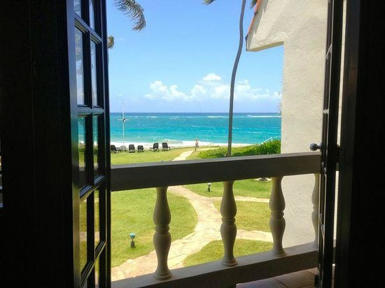 Cabarete Beach House at Nanny Estates: view from your bed!