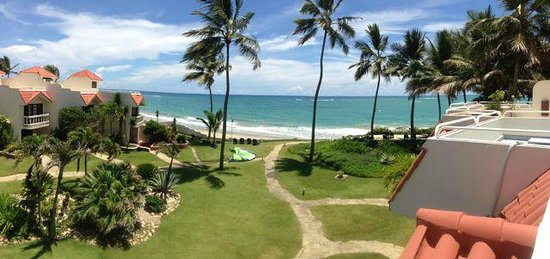 Cabarete Beach House at Nanny Estates: view from roof terrace