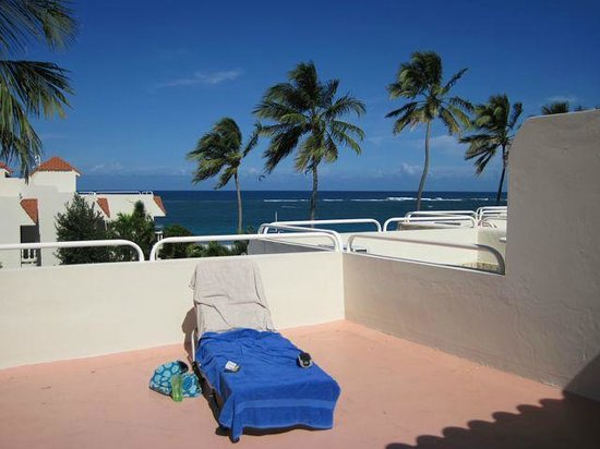 Cabarete Beach House at Nanny Estates: terrace view
