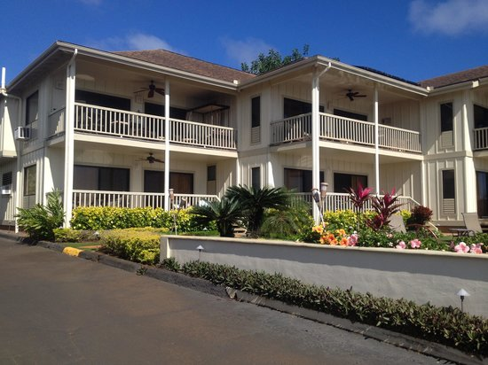Alihi Lani Poipu Beach Oceanfront Condominiums : Front View