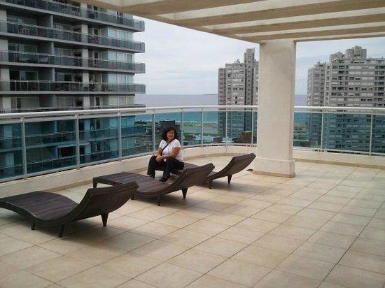 Sol y Luna Home & Spa : Solarium en terraza