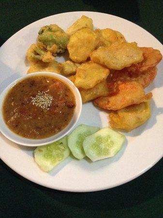May Kaidee Tanao - Vegetarian Restaurant : Tempura di verdure