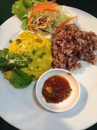 May Kaidee Tanao - Vegetarian Restaurant : Humus di zucca