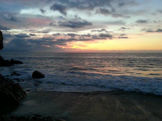 Hyatt Ziva Puerto Vallarta: Sunset from Seaside Grill