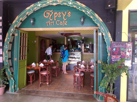 Interior design picture of the gypsy s lair art cafe