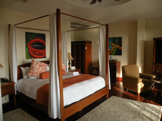 San Ignacio Resort Hotel: Luxury room at the hotel