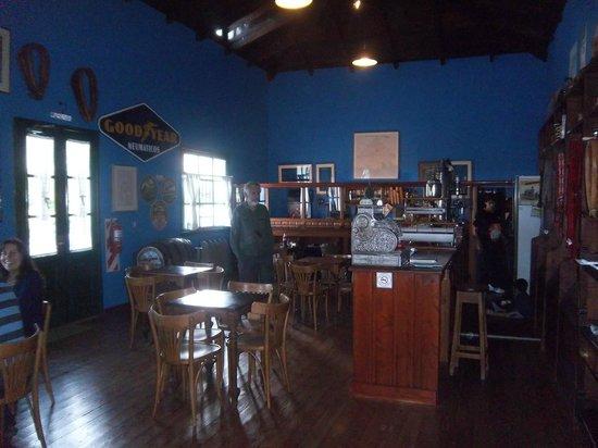 Museo de Leleque: el bar