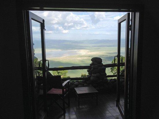 Ngorongoro Serena Safari Lodge: View from every room