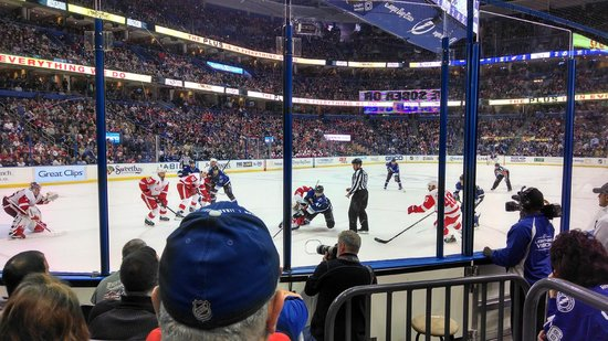 Amalie Arena: Red Wings @ Lightning