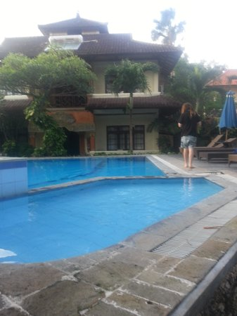 The Taman Ayu : Pool (prior to renovations)