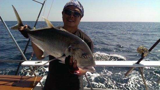 Phuket Fishing Charters: 8kg GT