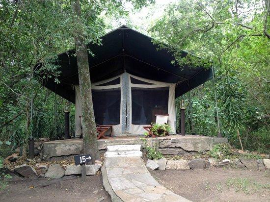 Mara Intrepids Luxury Tented Camp: Tent 15