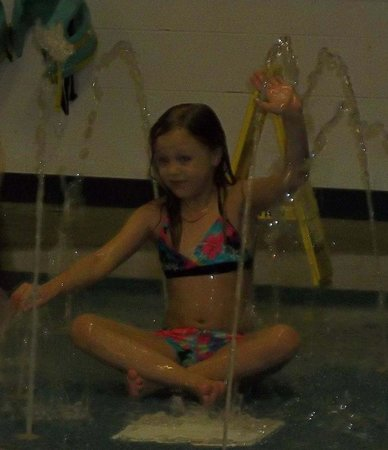 Resort at Governor's Crossing: she loved the pool