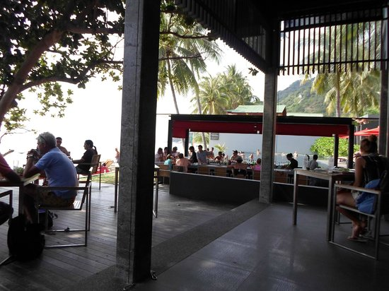 The Coast Resort - Koh Phangan : Restaurant and Bar.